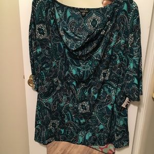George Blouse Size 3X NWT